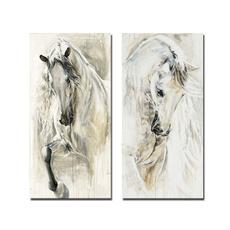 horse, art, horseoilpainting, wallartpicture