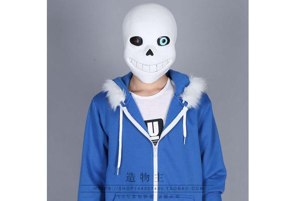 Chaud Jeu Undertale Sans Cosplay Costume Short bas Masque Gants Déguiseme