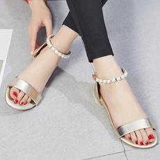 Summer, Style, Sandals, Zip
