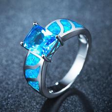 Blues, White Gold, bluefireopal, Fashion