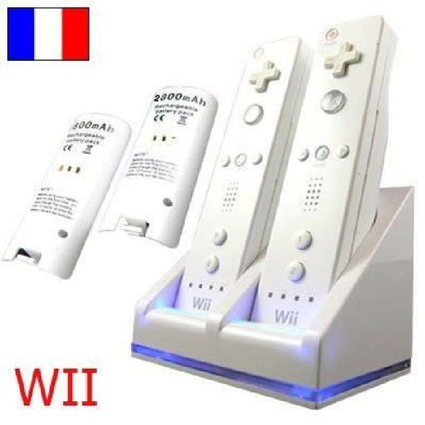 stationdechargewii, chargeurmanettewii, Wii, chargeurwii