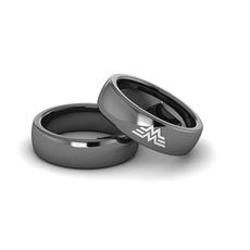 Couple Rings, Steel, titanium steel, justiceleague