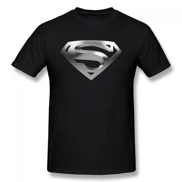 Summer, Shorts, Superman, solidcolortshirt