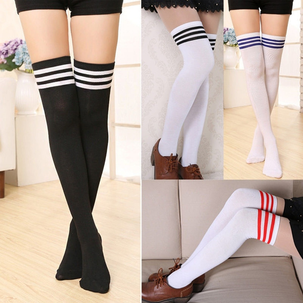 Leggings, overtheknee, Socks, Women's Fashion