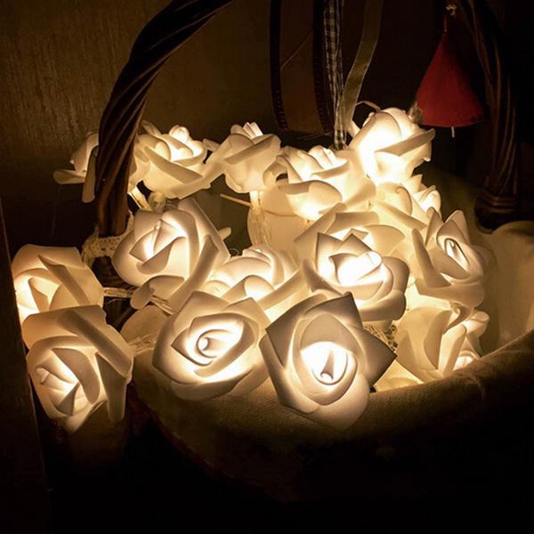 roselight, Flowers, led, Home Decor