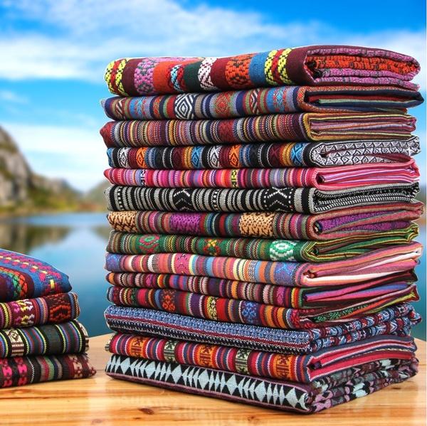 handmadefabric, Cotton, Colorful, Ethnic Style