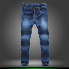 men jeans, Fashion, Slim Fit, Elastic