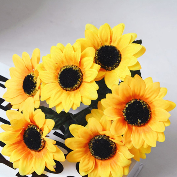 artificialsunflower, Beautiful, Flowers, Home Decor
