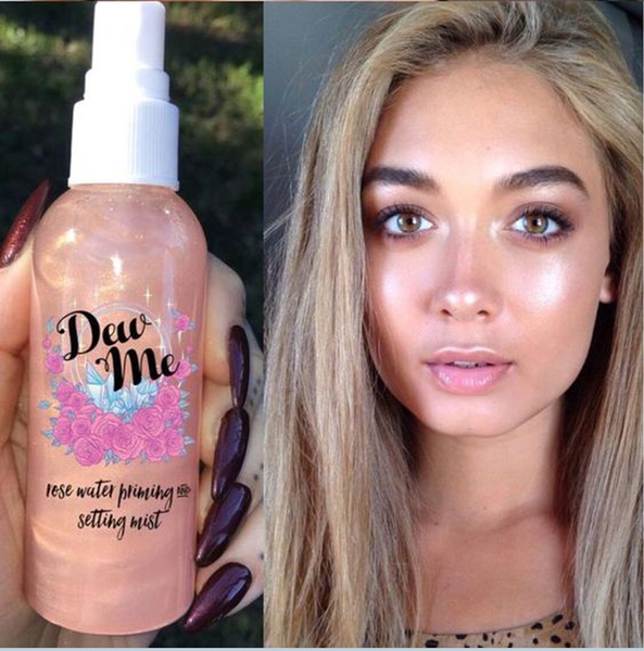 Makeup, makeupbase, settingmist, Rose