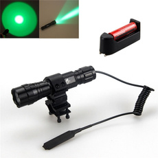 Flashlight, Rechargeable, greentorchlight, Remote