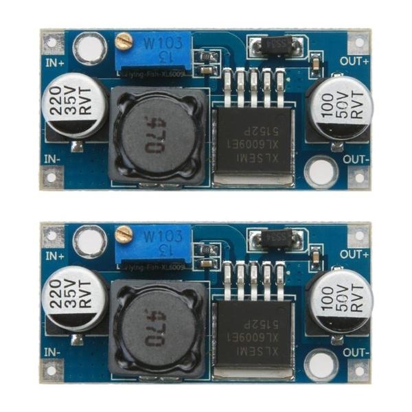 2PCS DC-DC Adjustable Step-up Power Converter Module XL6009 Replace LM2577