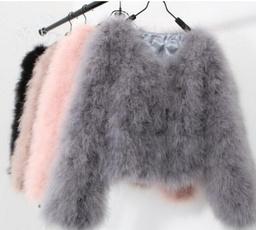 fauxcoat, Shorts, fur, wool coat