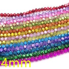 rondellebead, Glass, rondellecrystalbead, Beads & Jewelry Making