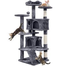 catactivitytreecatfurniturecattreehouse, catclimbingtreecathouse, Home & Living, house