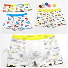 Baby, kidsboxerunderpantsbrief, Underwear, boysgrilsunderware