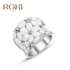 White Gold, crystal ring, wedding ring, gold