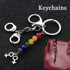 rainbow, Key Chain, PC, handcuffkeychain