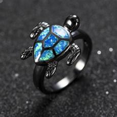 blackgoldring, Blues, wedding ring, naturalgemstone