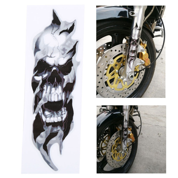 motorcycleaccessorie, Car Sticker, skullbonescardecal, Harley Davidson