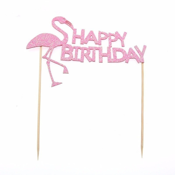 happybirthday, Shower, Decor, flamingo