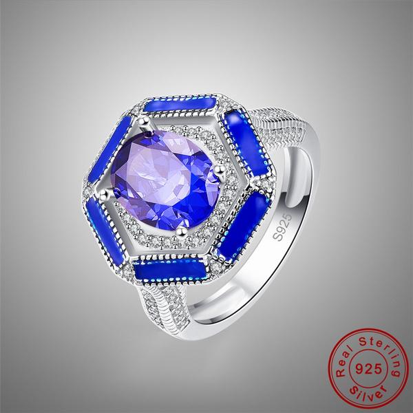 Sterling, Fashion, Jewelry, tanzanite