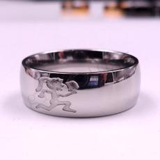 Steel, hatchetmancharm, polished, Jewelry