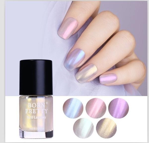 Nail Polish, cosmetic, holographicnailpolish, purplenailpolish