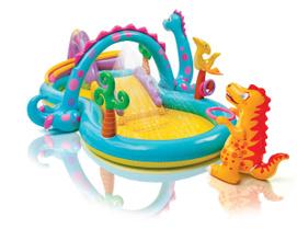 intexinflatableplaycenter, kiddiepool, inflatablepool, inflatablepoolslide