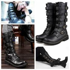 combat boots, Fashion, Combat, leather