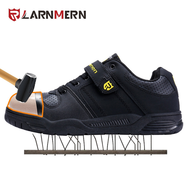 Velcro Steel Toe Shoes Puncture-proof