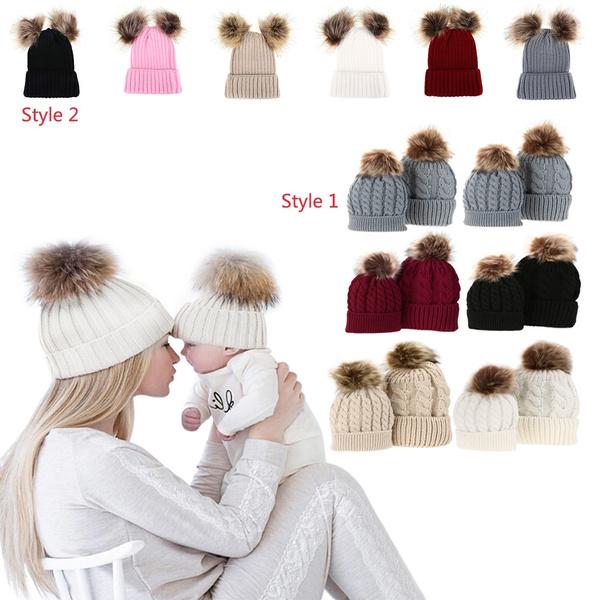 Cotton, knitted, Beanie, Fashion