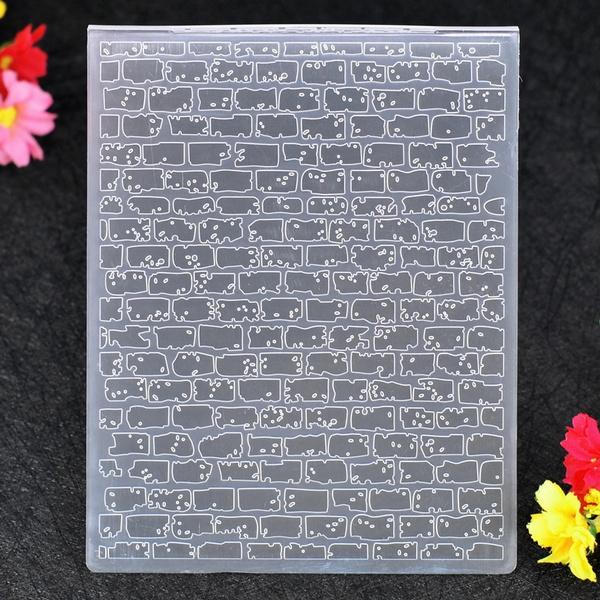 brickwalldecor, Plastic, scrapbookdiyaccessorie, diypthotoscrapbook