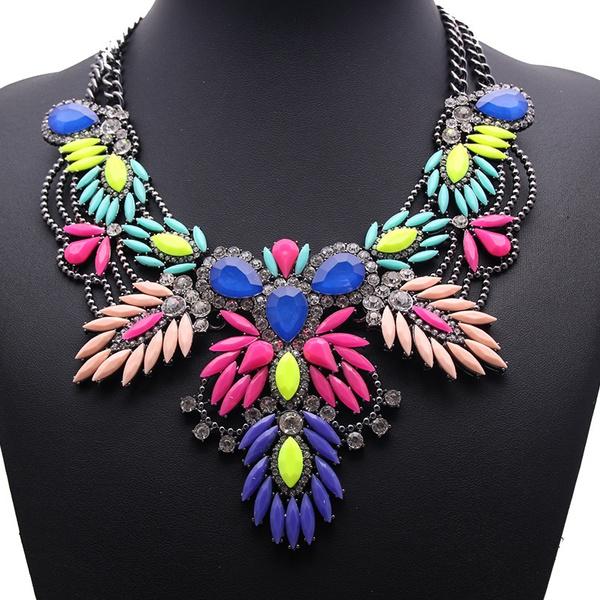 chunkychoker, Flowers, Jewelry, Chain