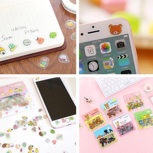 Decorative, cute, labelssticker, Stickers