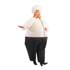 Inflatable, chefcostumeforhalloween, Cosplay, chefcostumemen
