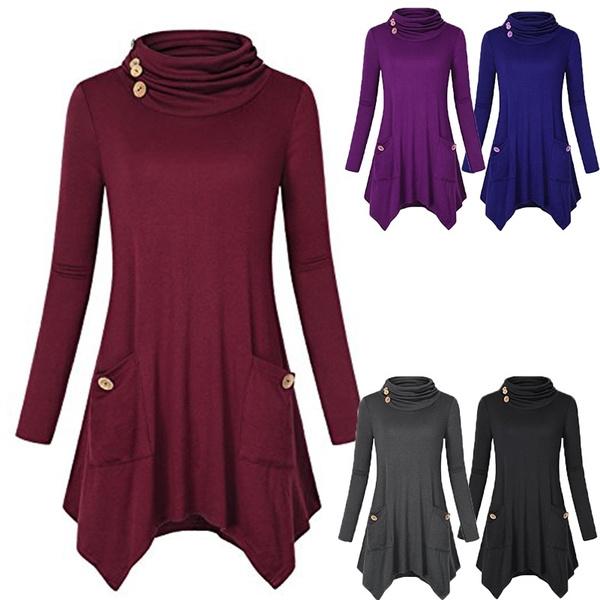 Plus Size, tunic, Sleeve, Women Blouse