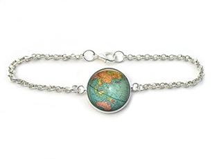 wanderlust, Jewelry, Chain, Vintage