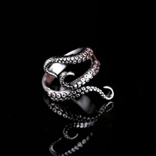 Octopus, adjustablering, Fashion, Jewelry