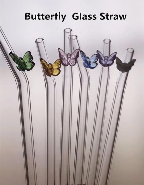 butterfly, glassstraw, harmlessmaterial, straw