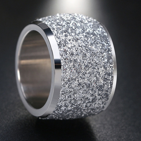 Steel, Fashion, Jewelry, brushedring