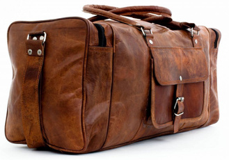 women luggage travel bags, travelduffel, Luggage, leather