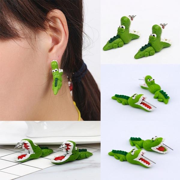 polymer, Jewelry, Stud Earring, Animal