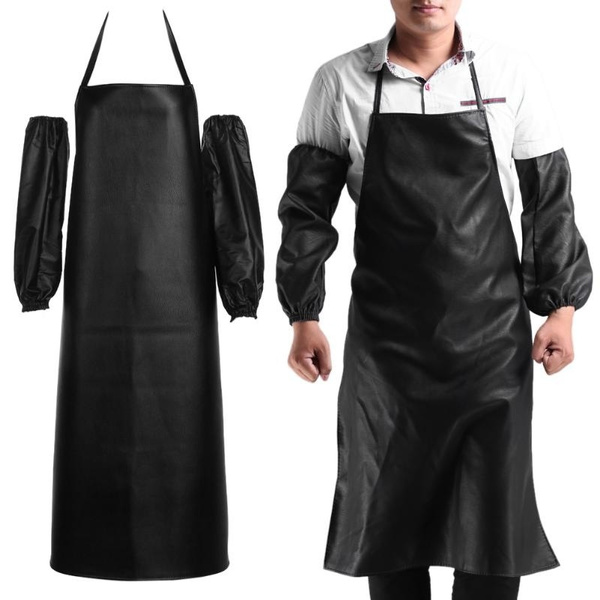 apron, Waterproof, leather, Men