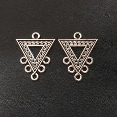 Fashion, Triangles, Jewelry, Earring