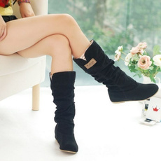 Knee High Boots, Decor, Lace, long boots