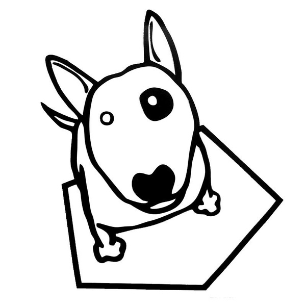 cutecartoonsticker, car decal, Pets, Stickers