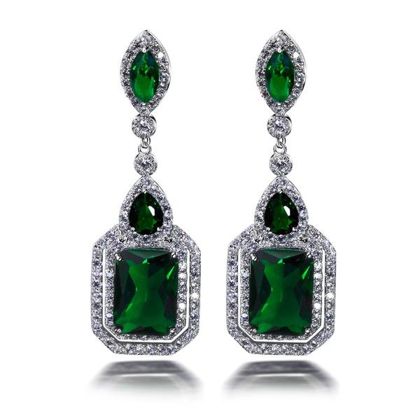 Sterling, Fashion, Gemstone Earrings, Earring