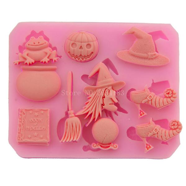 Silicone, Tool, Halloween, cupcake