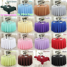 Polyester, tablecoverprotector, Fabric, roundtablecloth