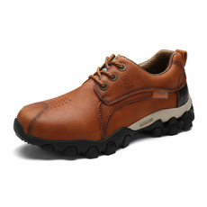 non-slip, Outdoor, leather shoes, Hiking